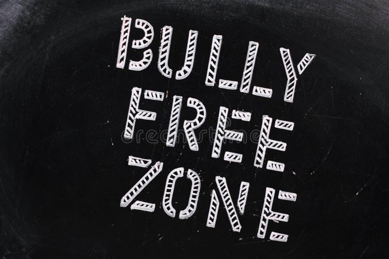 Bully Free Zone royalty free stock photography