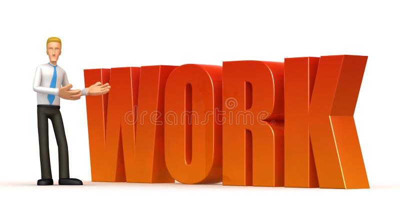 Download Work stock illustration. Illustration of design, handsome - 13491025