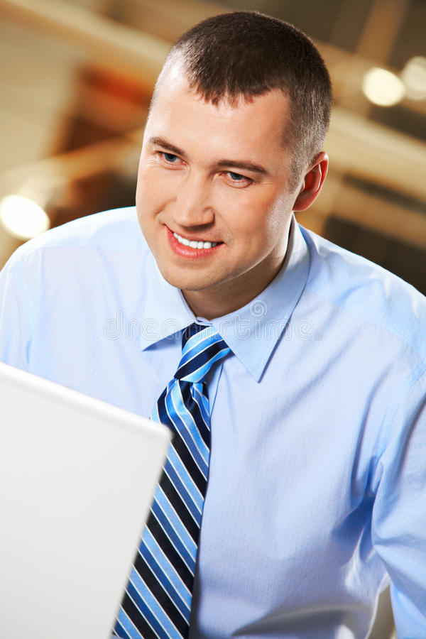 Download During work stock image. Image of collar, handsome, corporate - 17572413