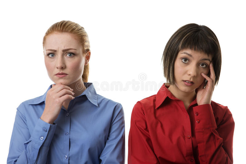 Work colleagues stock photography