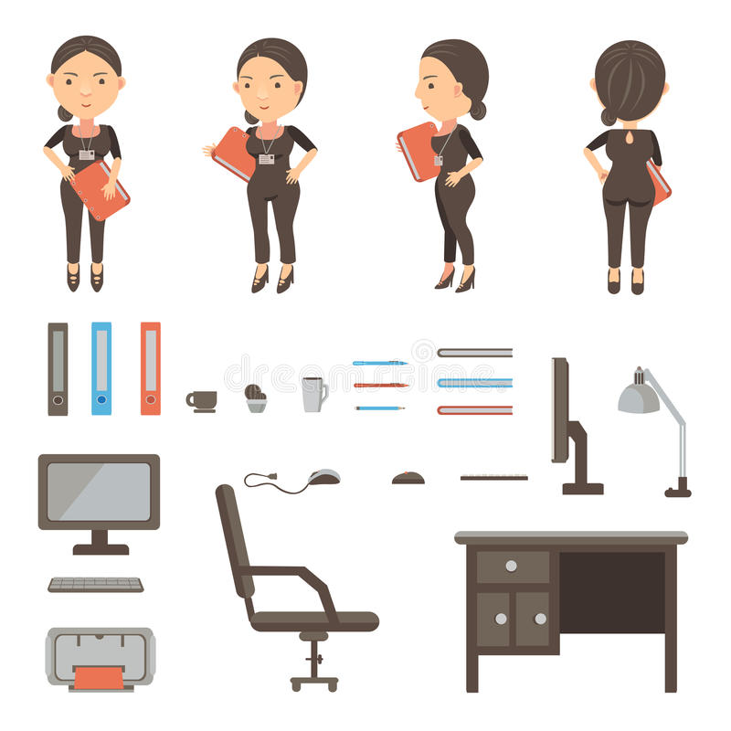 Free Work Desk Stock Photo - 74264000