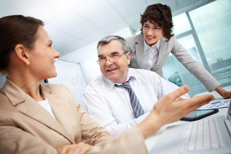 Download Work in group stock image. Image of paperwork, manager - 27379721