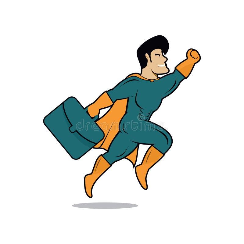 Work Hero Stock Vector Illustration Of Mascot Icon 89415523