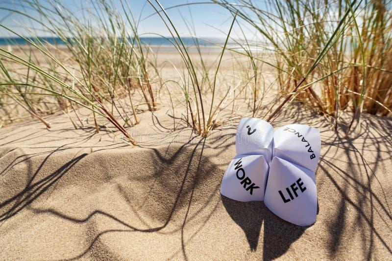 Work life balance choices royalty free stock image