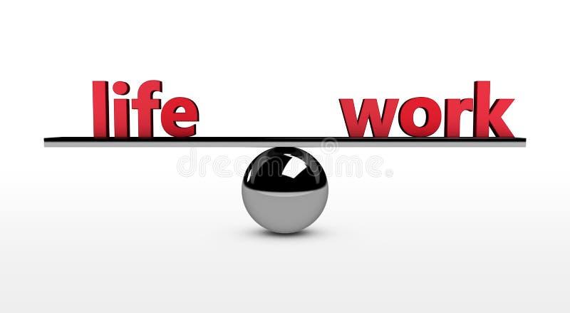 Work Life Balance Concept royalty free stock image