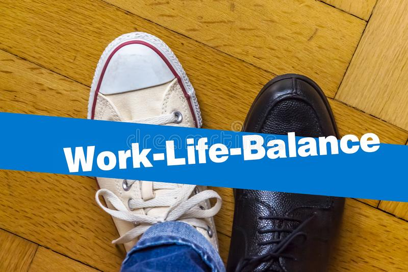 Work Life Balance royalty free stock image