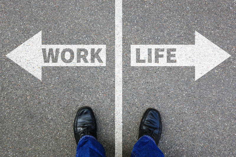 Work life balance living stress stressed relax relaxed health bu stock photo