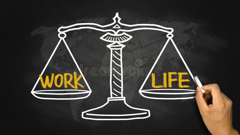 Work life concept stock photo