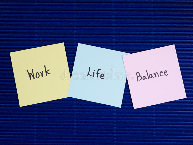 Work life 18 stock photo