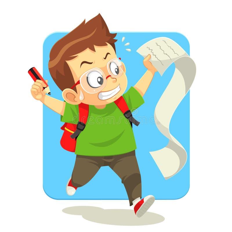 Work List vector illustration