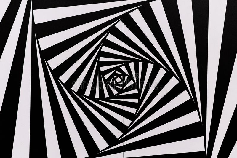 Work by Maurits Cornelis Escher exhibited at a temporay exhibition at the Museum of Modern Art in Naples - Madre stock images