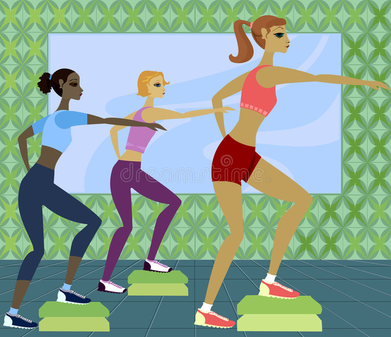 Work It Out royalty free illustration