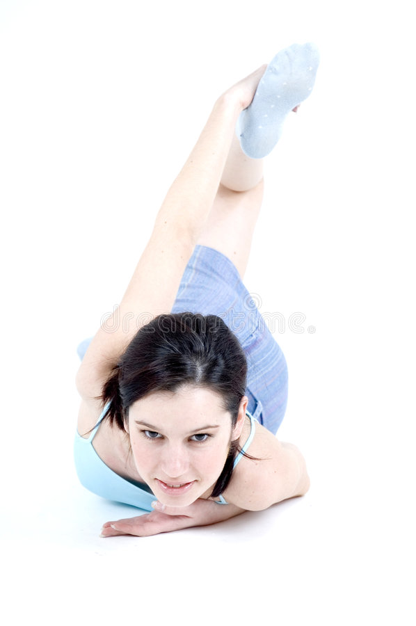 Download Work-out Girl Stock Images - Image: 689674