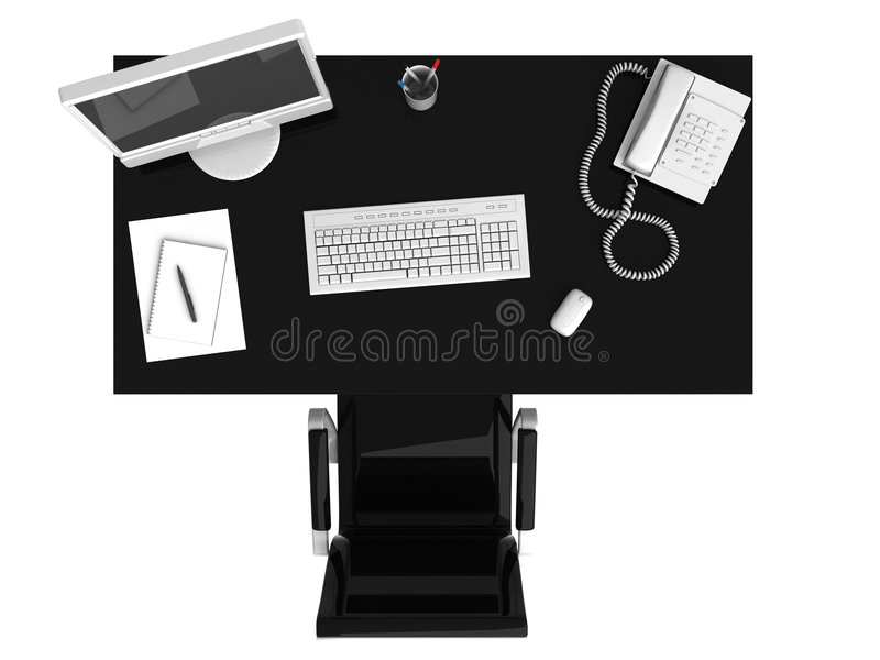 Work Place Royalty Free Stock Photo