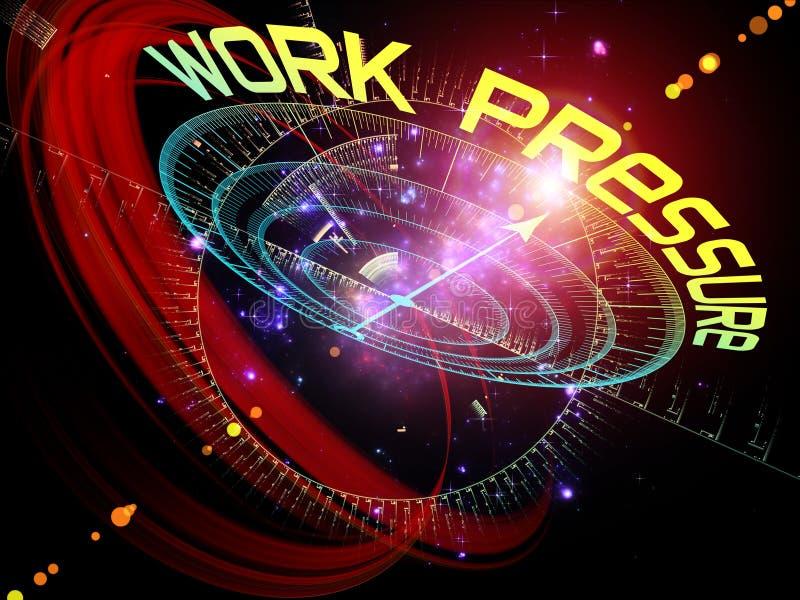 Work Pressure vector illustration