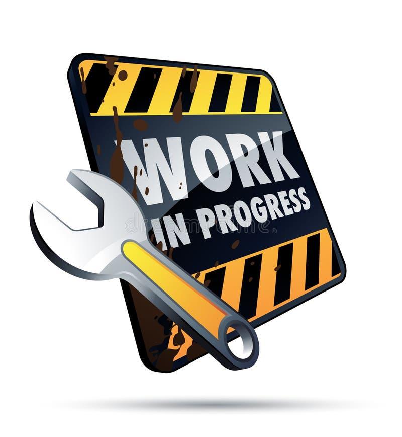 Download Work in progress stock vector. Illustration of build - 11839173
