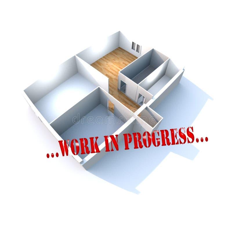 Download Work In Progress stock illustration. Illustration of figuring - 21585687