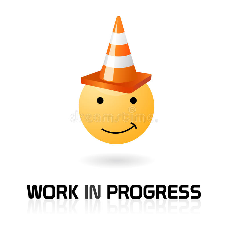 Download Work In Progress Funny Symbol Stock Vector - Image: 14479076