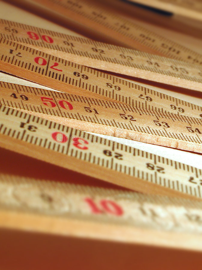 Work ruler stock photos