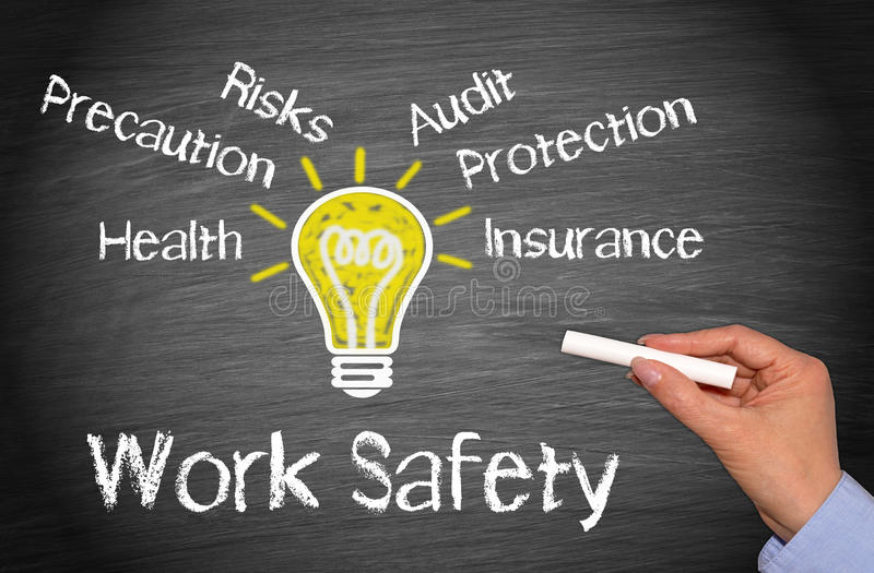 Work Safety Concept royalty free stock photography