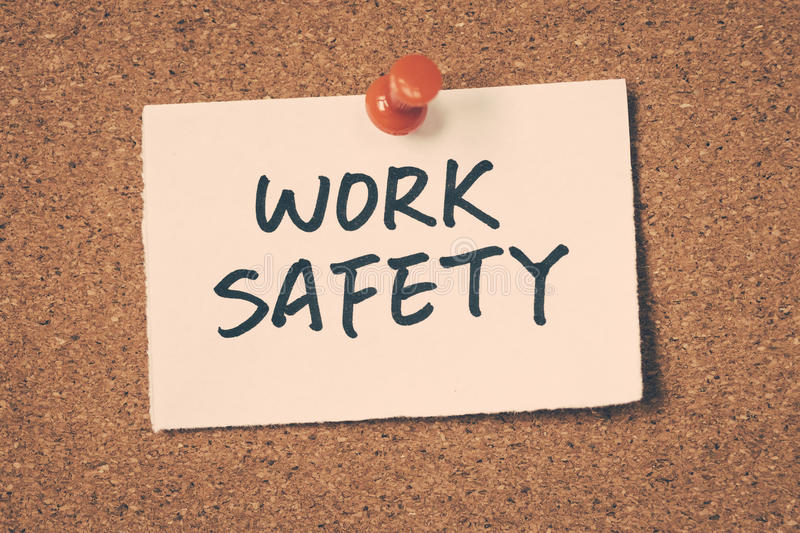 Work safety royalty free stock photography