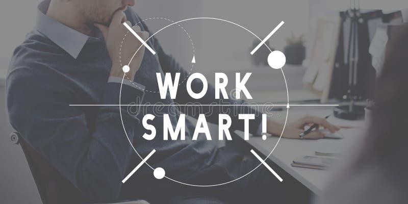 Work Smart Hard Management Productivity Concept royalty free stock photo