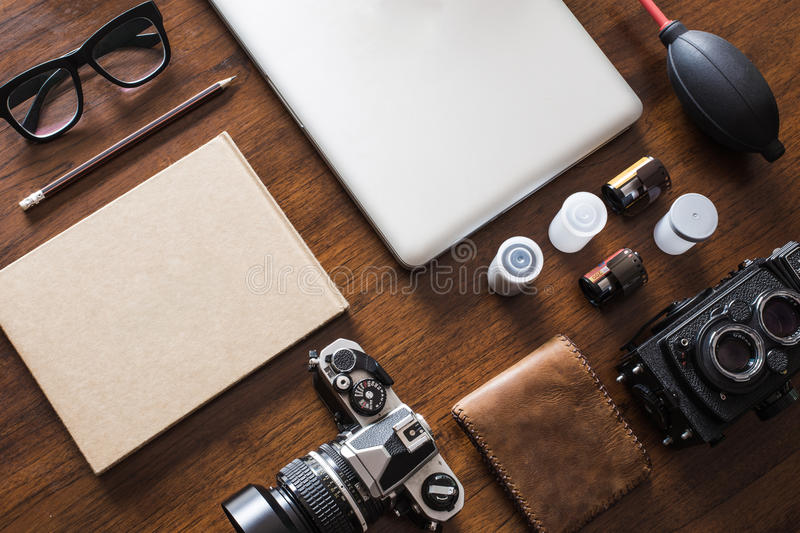 Work space royalty free stock photography