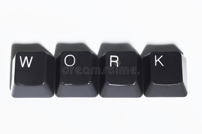 Download Work Spelled Out stock image. Image of spell, command, productivity - 905869