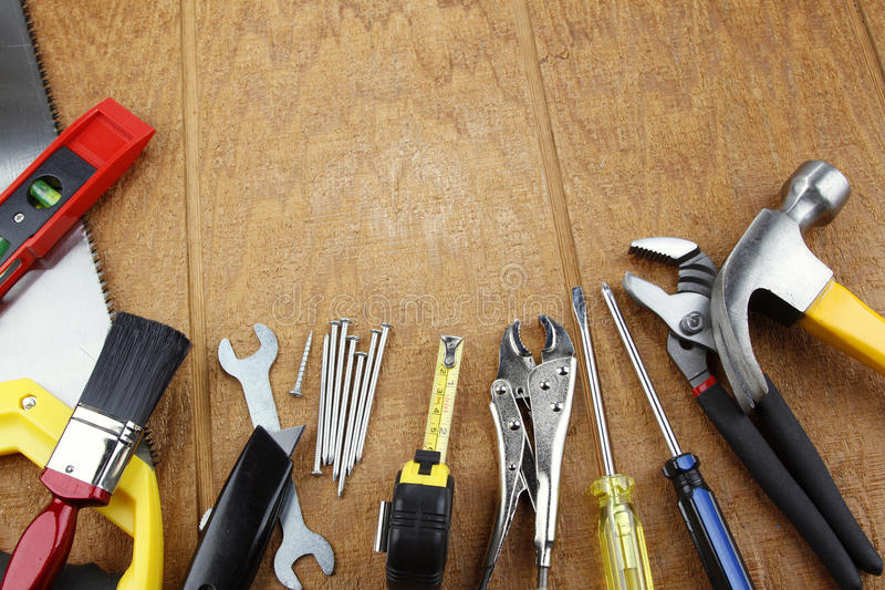 Download Work tools stock photo. Image of improvement, photo, build - 28670996