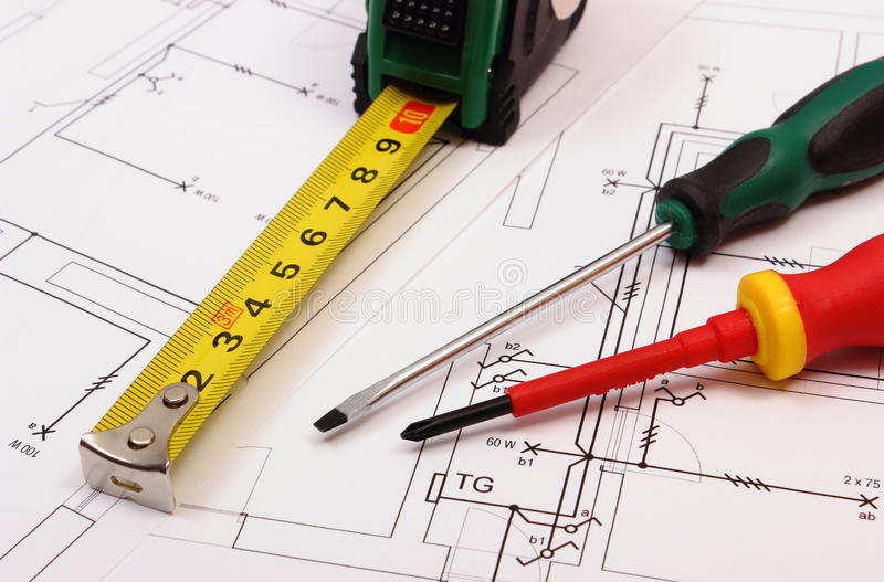 download work tools on electrical construction drawing of house stock po image of electrical