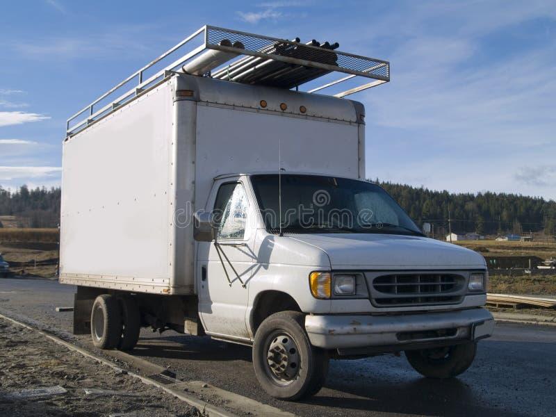 Work Truck stock photo