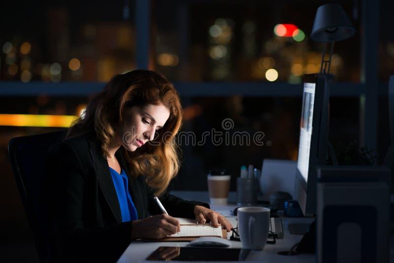workaholic royalty-vrije stock afbeelding
