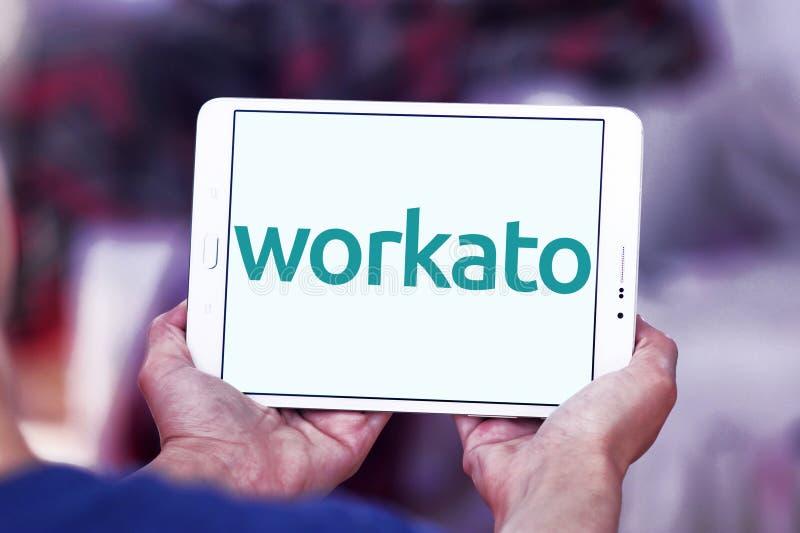 Workato przedsięwzięcia logo obraz stock