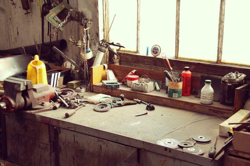 Workbench royalty free stock photo