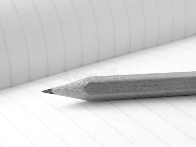 workbook карандаша стоковые фото