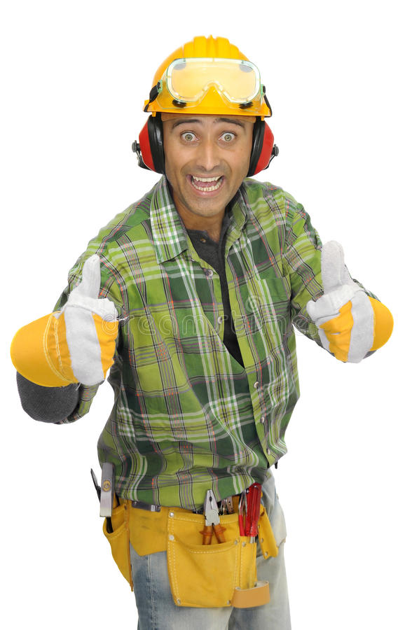 Download Worker stock photo. Image of plumber, mask, build, labor - 11203522