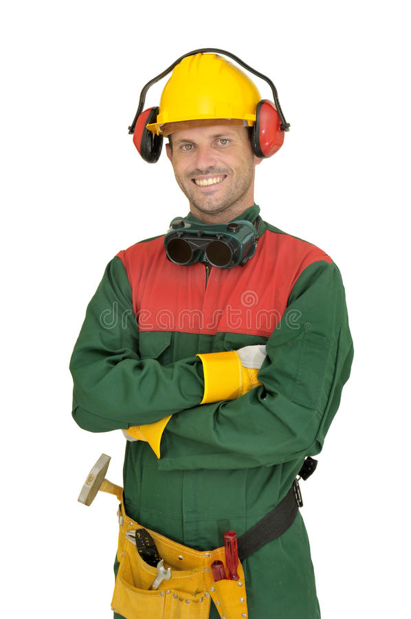 Download Worker stock photo. Image of jump, protection, industrial - 16290944