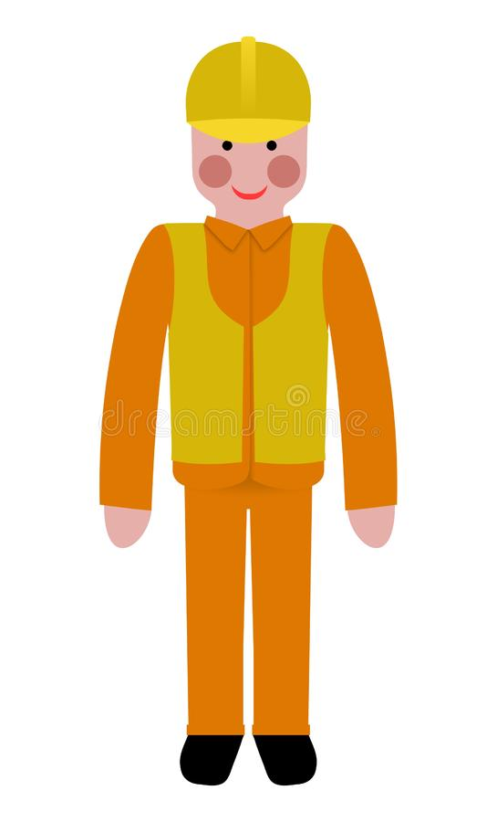 Download Worker stock illustration. Illustration of isolated, darrenw - 8377408
