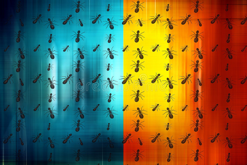 Download Worker ants stock illustration. Image of circles, canvas - 6751036
