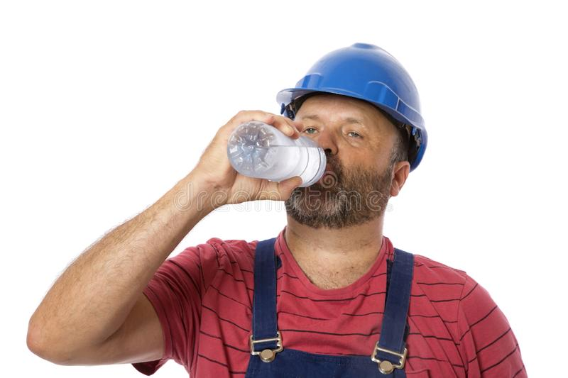 Drink Water for Safety royalty free stock photo