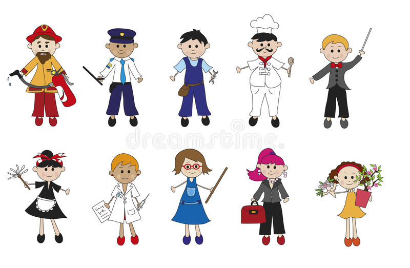 Download Worker stock illustration. Illustration of bouquet, director - 31045692