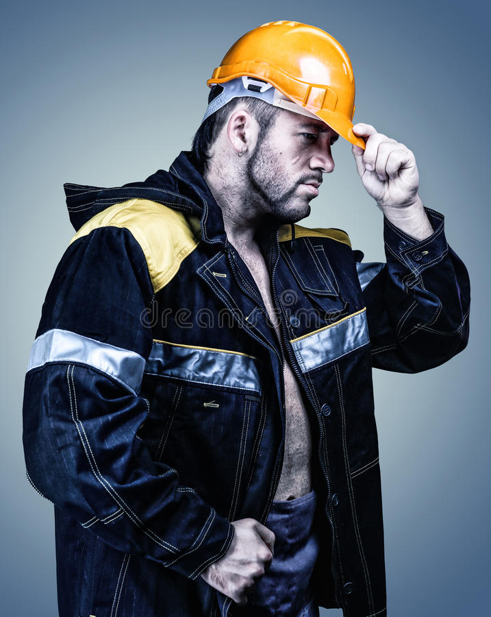 Worker men royalty free stock photos