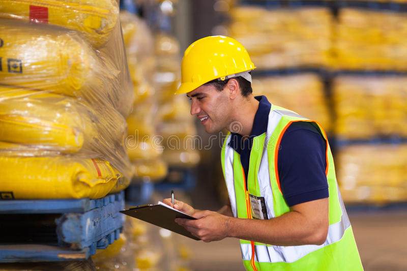 Worker rice stock stock images