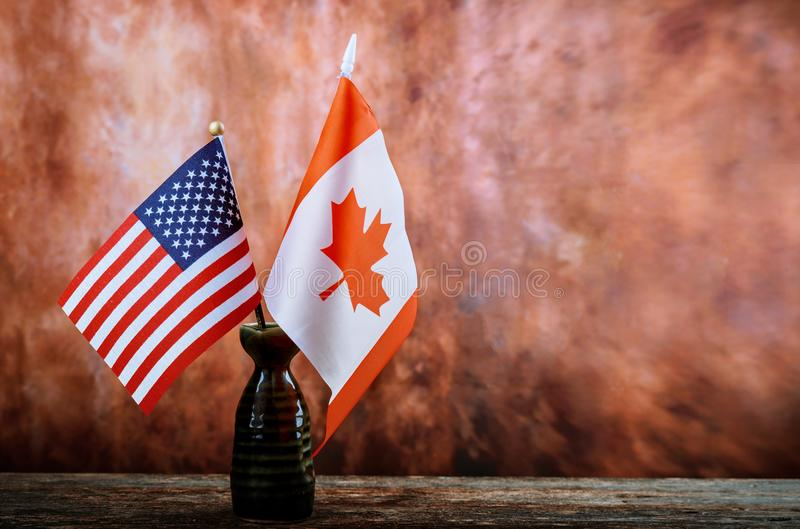 Labor Day is a federal holiday of United States America and CANADA Repair equipment and many handy tools. American and Canadian fl stock images