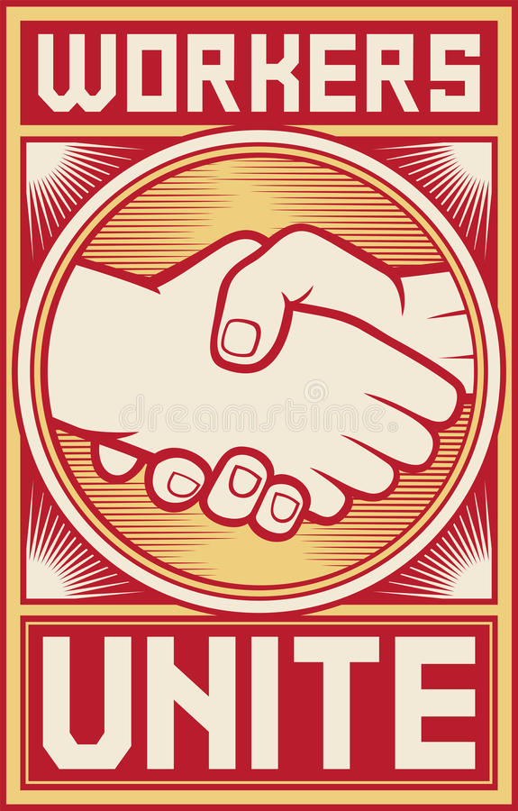 Excellent idea. workers unite fist sorry