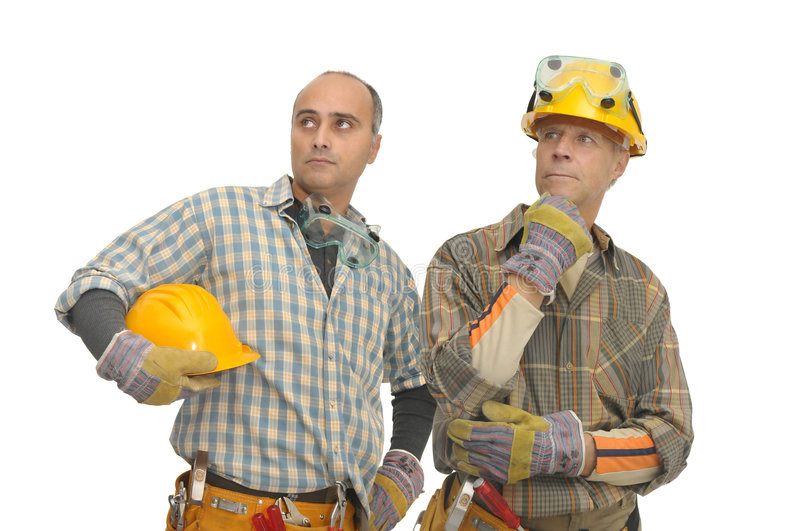 Workers royalty free stock photography