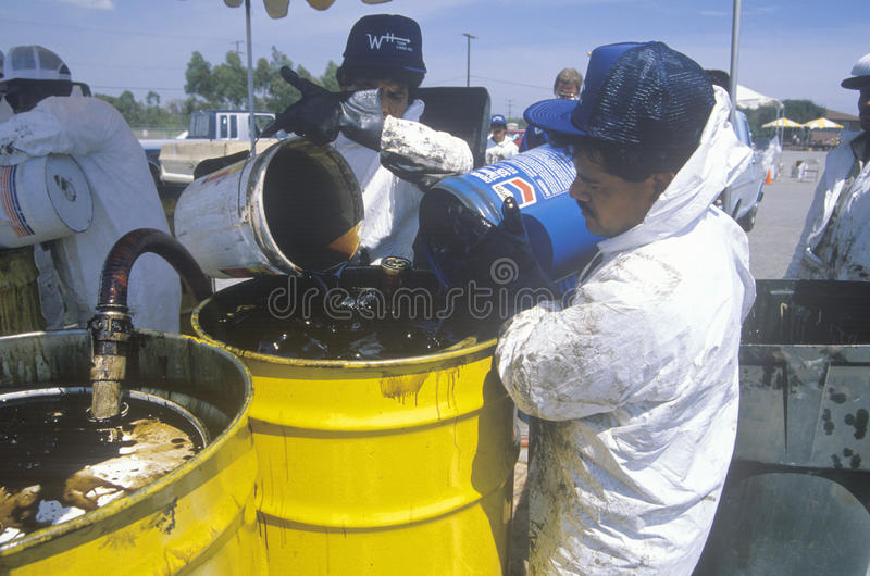 Download Workers Handling Toxic Household Wastes Editorial Photography - Image: 26255232