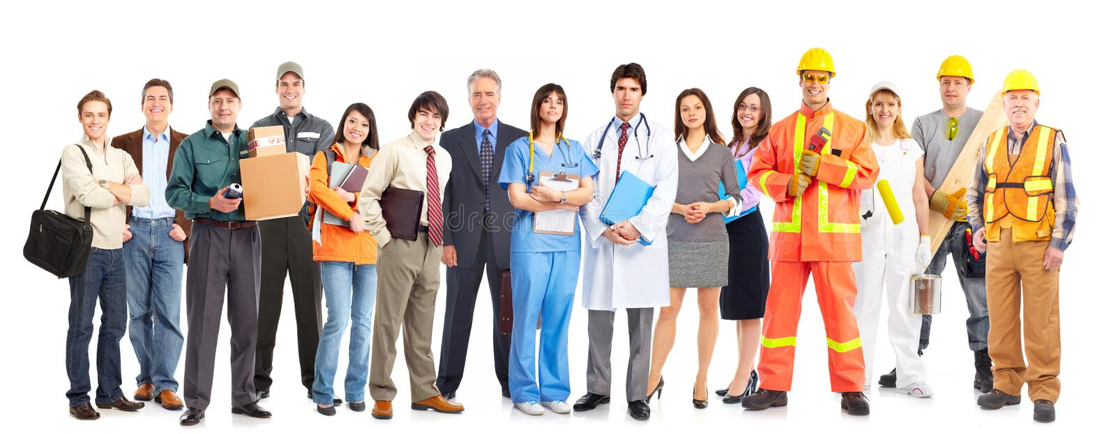 Workers people stock photography