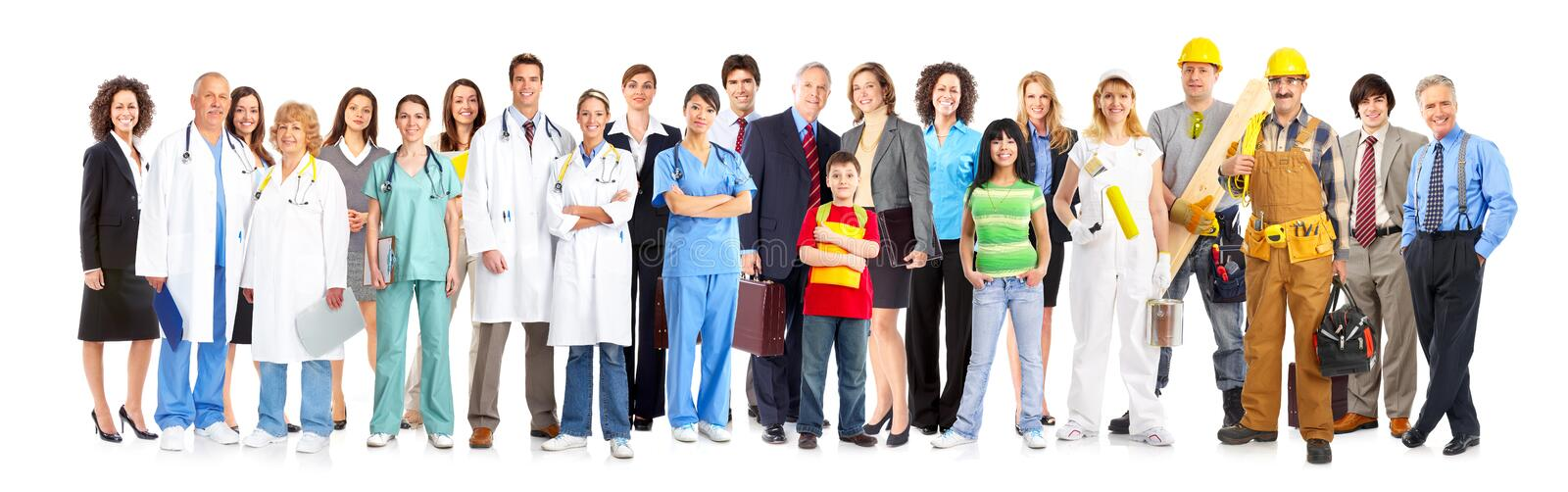 Workers People Royalty Free Stock Photos