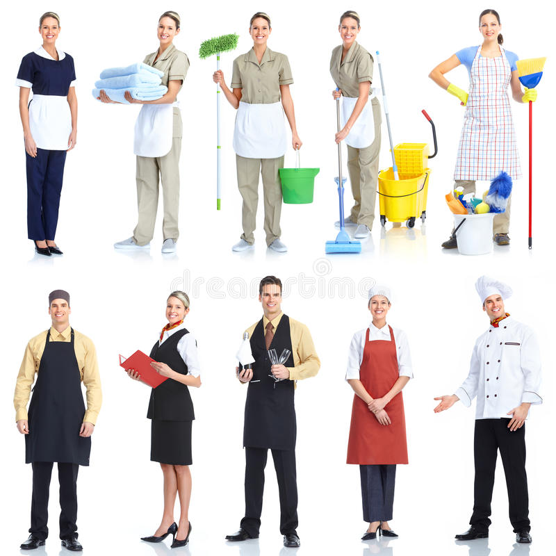 Workers people royalty free stock image